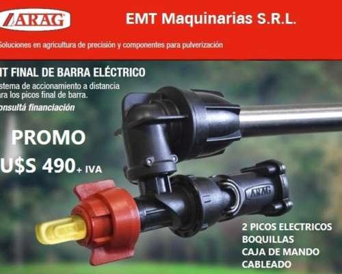 Kit Picos Eléctricos Final de Barra