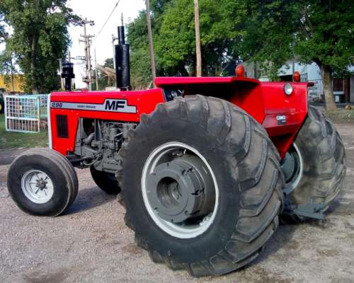 Tractor Massey Ferguson 296 año 1984 en muy Buen Estado