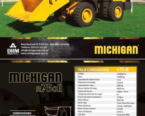 Pala Cargadora Michigan R75cii Precio Final