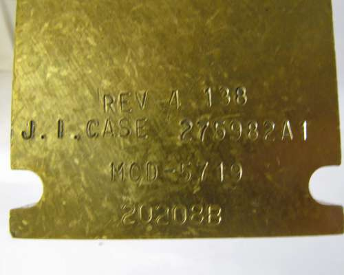 275982a1 - Valvula 2388 Case IH