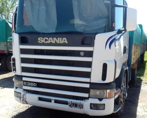 Camión Scania 360 año 2006