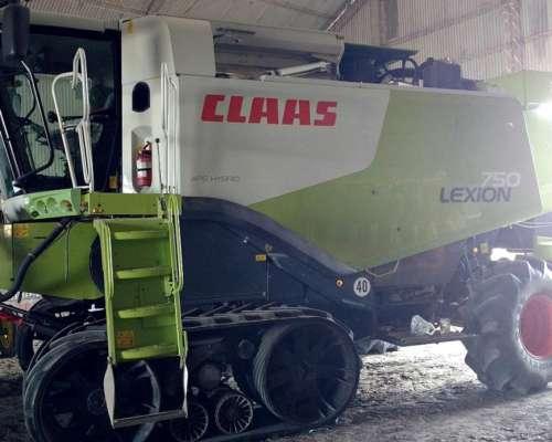 Cosechadora Claas Lexion 750