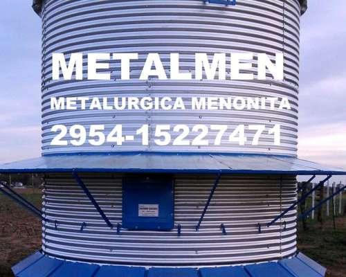 Silos Comederos de 7, 12 y 18 Ton. Metalmen
