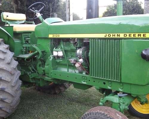 Tractor John Deere 24 20 muy Bueno