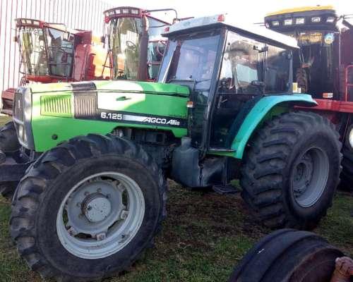 Tractor Agco Allis 6.125 Año 2007 Doble Tracción