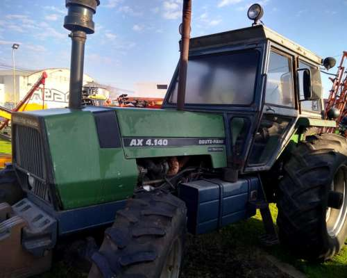 Tractor Agricola Doble Traccion Deutz 4.140