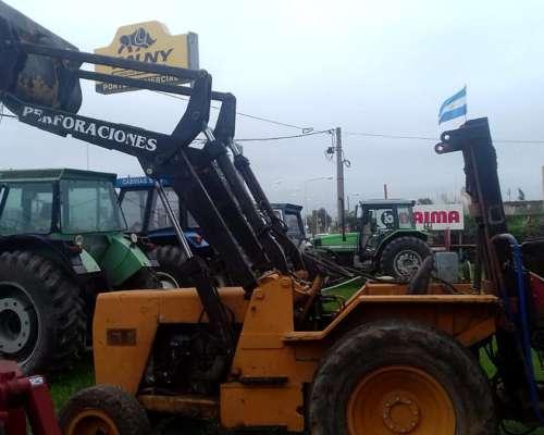 Tractor Fiat 500 con Pala y Hoyadora