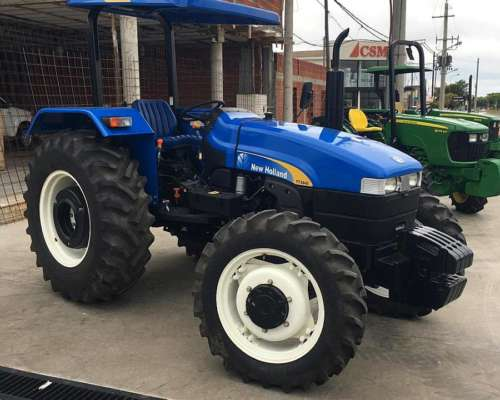New Holland 3840. Doble Tracción. año 2017