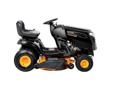 Mini Tractor Poulan PRO 19 HP Hidrostatico 46 de Corte
