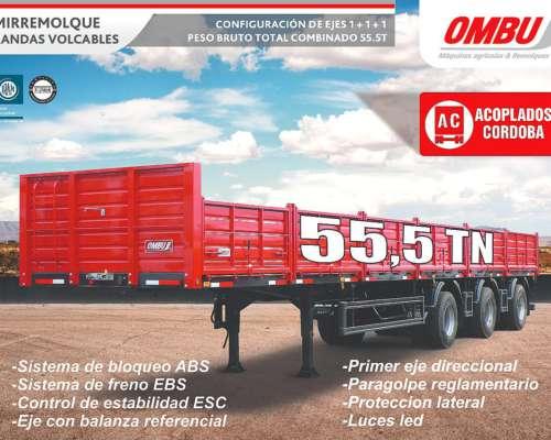 Semirremolque Ombu 1+1+1 (55,5 TN)