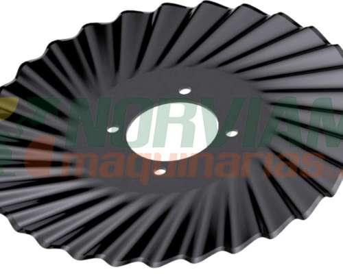 Cuchilla Turbo 30 Ondas 17 X 4 Exp. - Ingersoll