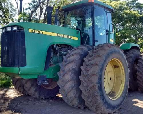 John Deere 9200 Impecable