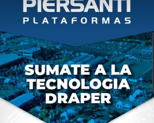 Plataformas Drapers Piersanti - Financiaciacion a 4 Años en