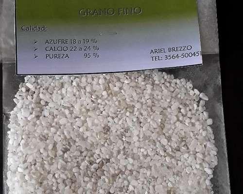 Yeso Agricola en Bolsa
