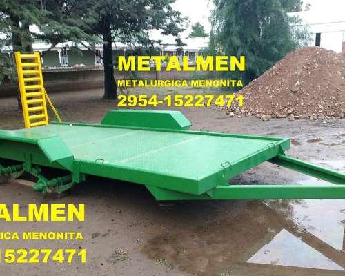 Trailer Metalmen de 2 X 5 para 4.500 Kg