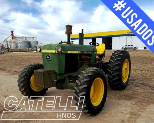 Tractor John Deere 3350 año 1989