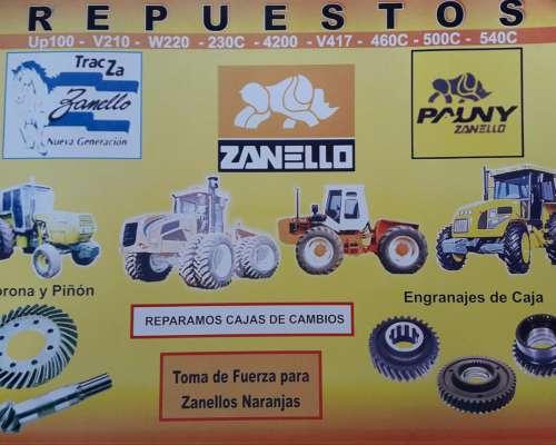 Repuestos Zanello- Tracza