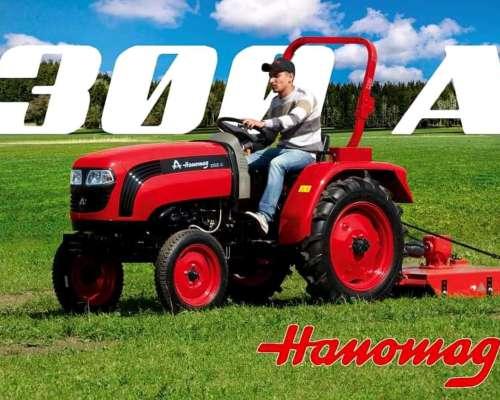 Tractor Hanomag de 35 HP Tracción Simple