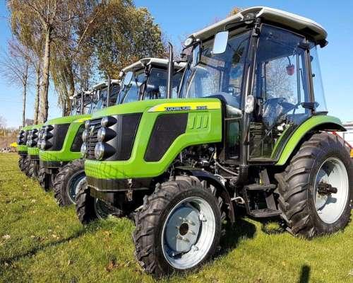 Tractor C/ Cabina Doble Tracción Agrícola 50 HP Tipo Hanomag