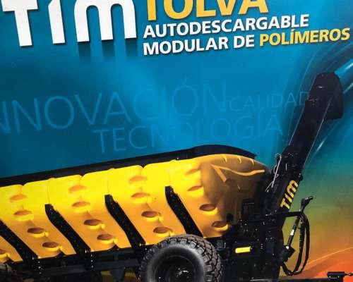 Tolva Autodescargable TIM Modulares Polímeros