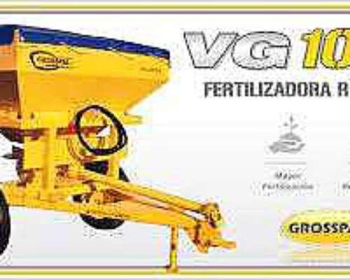 Fertilizadora Grosspal VG 1000 Nueva