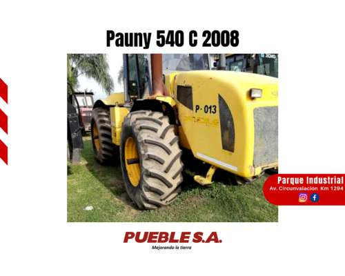 Pauny 540 C 2008 Financiación en Pesos