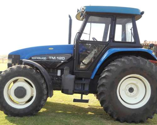 Tractor New Holland TM120 DT año 2003