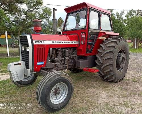 Massey Ferguson 1195 L 1989 Impecable