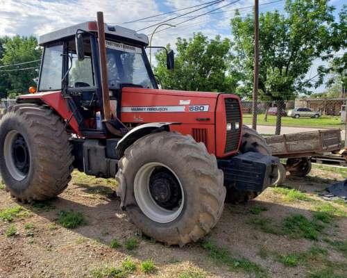 Tractor MF680 Mod. 2005, 180cv, Bomba High Flow