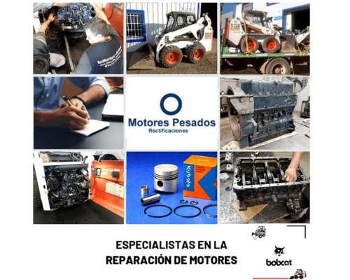 Reparación, Servicio y Repuestos Motores Kubota de Bobcat