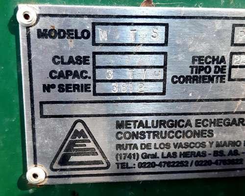 Inoculador Echegariay con Motor Electrico Monofasico Doble I