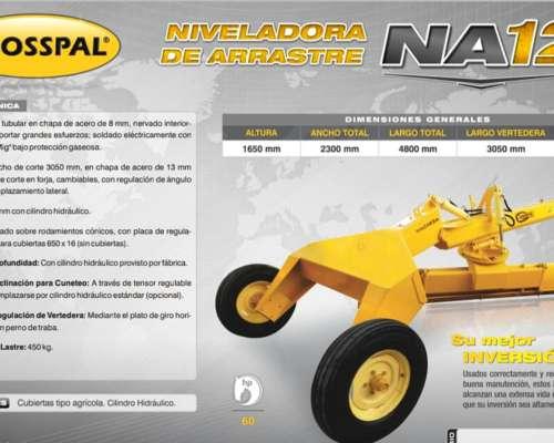 Niveladora de Arrastre NA12