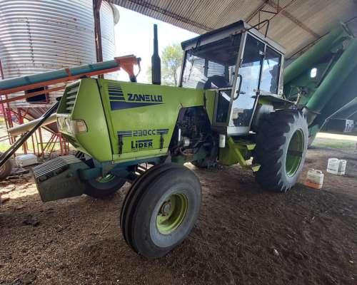 Tractor Zanello 230cc Rodado 18.4x34 Simple