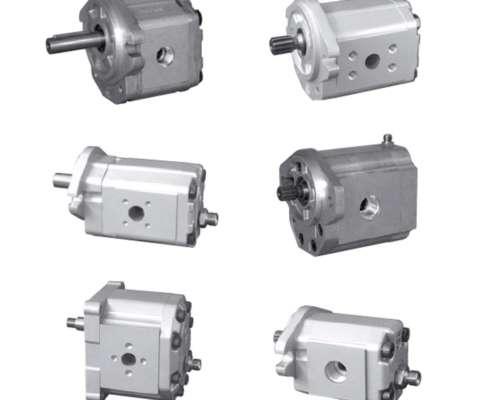 Bombas y Motores a Engranajes de Aluminio - Snu3nn