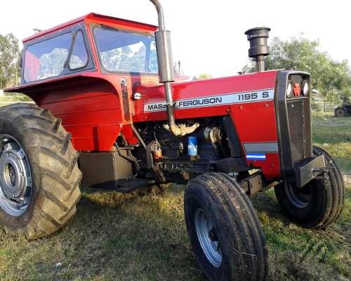 Tractor Massey Ferguson 1195 Traccion Simple.