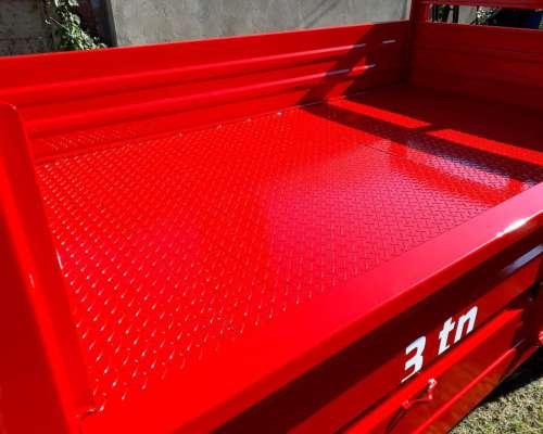 Carro Playo 3 Metros, Capacidad 3tn.-