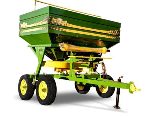 Fertilizadora Doble Disco 4000 Lts - 24 Mts