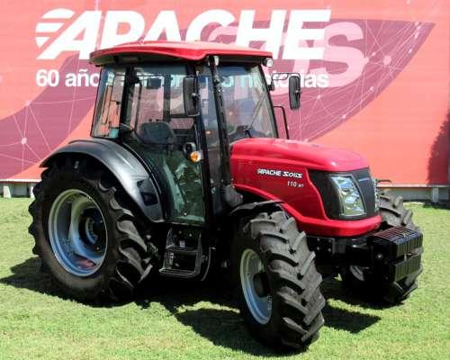 Tractor Solís 110 HP con Cabina Original