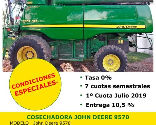 Cosechadora John Deere 9570