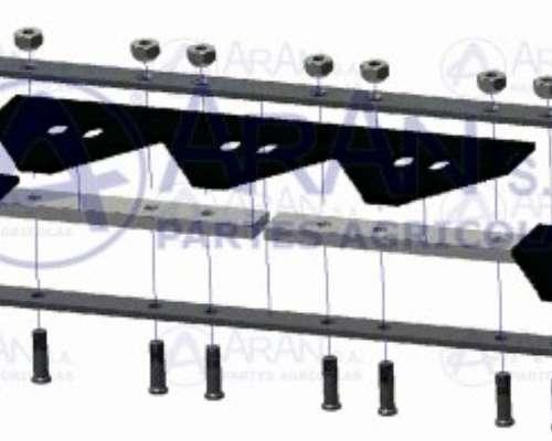 Cuchilla Armada de 22ft22x6 para Case 2166-2366plataf.1020