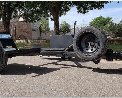 Trailer de Arrastre Tipo TOW Dolly para 1.5 TN. 1 Eje