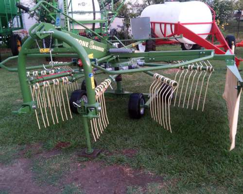 Rastrillo Giroscopico Krone, Swadro 38 de 1 Rotor, 3 Puntos