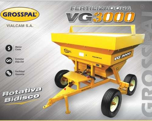 Fertilizadora VG 3000 - Grosspal