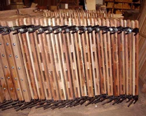 Tranquera Puerta Madera Tablas X 3m C/bisagra y Cadena