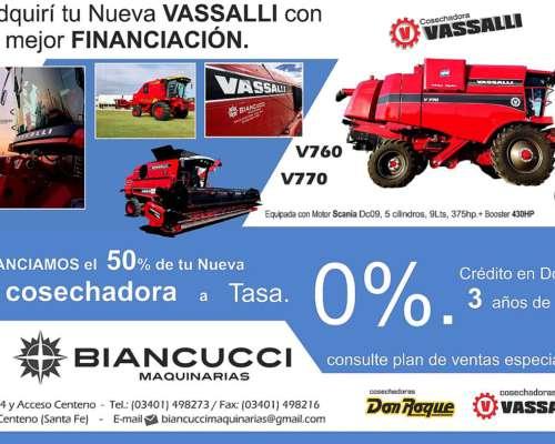 Nueva Linea Vassalli V760 / V770 Biancucci
