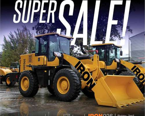 Pala Cargadora 2M3 - 140 HP - Iron 936 - Super Oferta