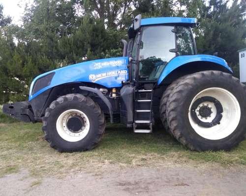 New Holland T8.355, con Piloto