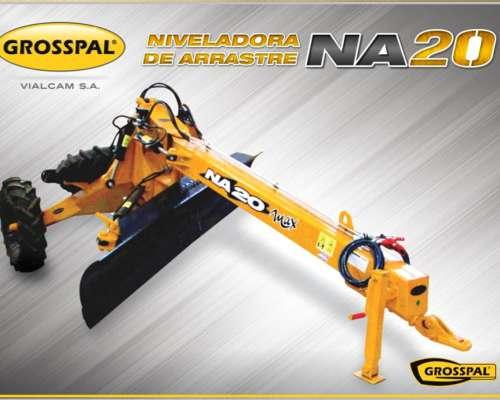 Niveladora de Arrastre NA 20