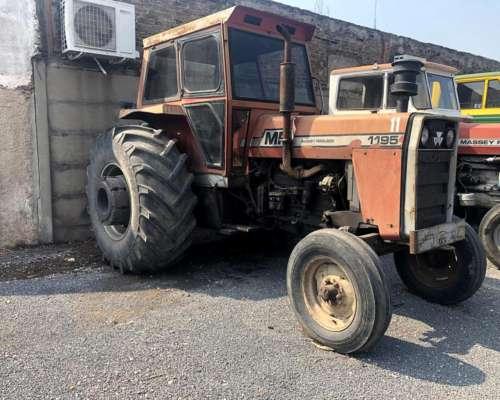 Massey Ferguson 1195 año 1980, Rodado 23-1-30