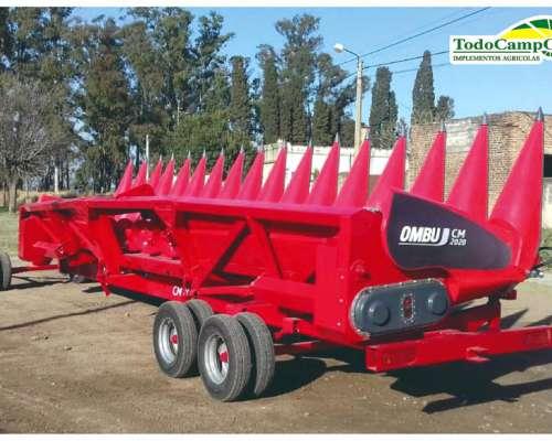 Nuevo Cabezal Maicero Ombú Modelo 2020, 16 A 52, Disponible